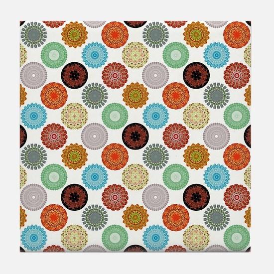 MANDALAS Tile Coaster