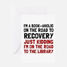 Cute Book nerd Greeting Card
