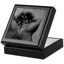 Cute Human need Keepsake Box