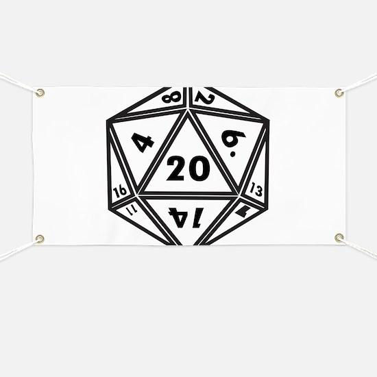 Cute D20 Banner