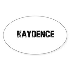 Kaydence Oval Decal