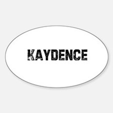 Kaydence Oval Decal