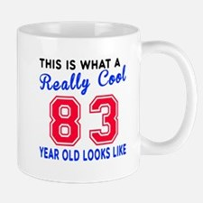 Really Cool 83 Birthday Designs Mug
