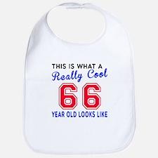 Really Cool 66 Birthday Designs Bib