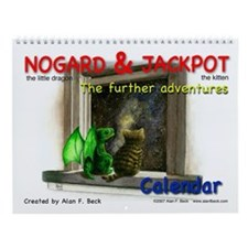 Nogard & Jackpot Further Adventures Wall Calendar