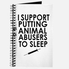 I support putting animal abusers to sleep Journal