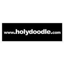 www.holydoodle.com Bumper Bumper Sticker