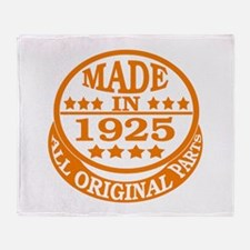 Made in 1925, All original parts Throw Blanket