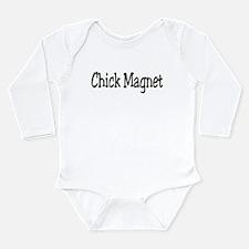 Rude crude offensive Long Sleeve Infant Bodysuit