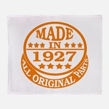 Made in 1927, All original parts Throw Blanket