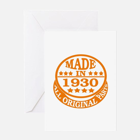 Made in 1930, All original parts Greeting Card