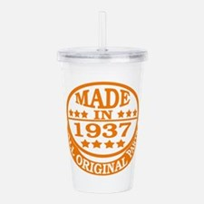 Made in 1937, All orig Acrylic Double-wall Tumbler
