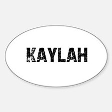 Kaylah Oval Decal