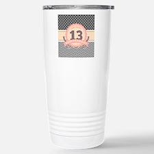 13th Anniversary Gift C Travel Mug