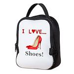 I Love Shoes Neoprene Lunch Bag