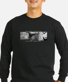 Your Artwork and Text here Long Sleeve T-Shirt