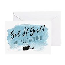 Graduation Card, Get it Girl! Greeting Cards