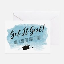 Graduation Card, Get it Girl! Greeting Cards