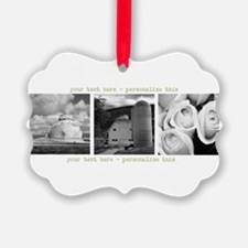 Your Artwork and Text here Ornament