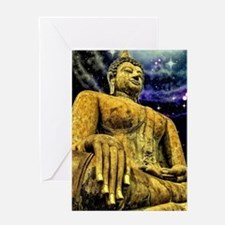 Cool Buddhist Greeting Card