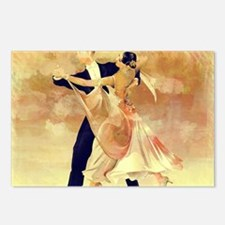 Cute Couple dancing Postcards (Package of 8)