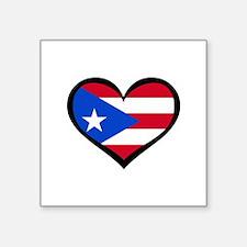 """Unique I heart puerto vallarta Square Sticker 3"""" x 3"""""""