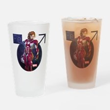 Iron Man Rescue No Helmet Drinking Glass