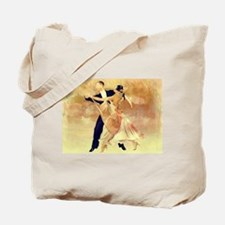 Vintage couple dancers Tote Bag