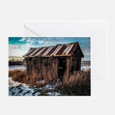 Unique Abandoned Greeting Card
