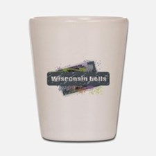 Wisconsin Dells Design Shot Glass
