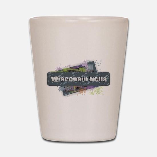 Wisconsin Dells Design Shot Glass