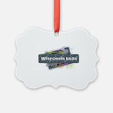Wisconsin Dells Design Ornament