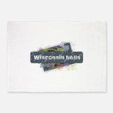 Wisconsin Dells Design 5'x7'Area Rug