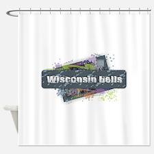 Wisconsin Dells Design Shower Curtain
