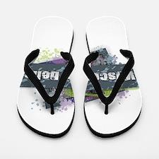 Wisconsin Dells Design Flip Flops