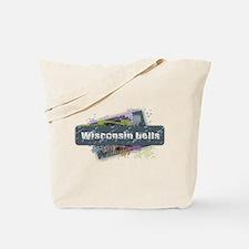 Wisconsin Dells Design Tote Bag