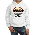 Drummer: We Can't Have Nice Thin Hooded Sweatshirt