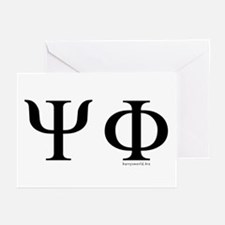 Psi Phi Greeting Cards (Pk of 20)