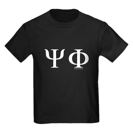 Psi Phi Kids Dark T-Shirt