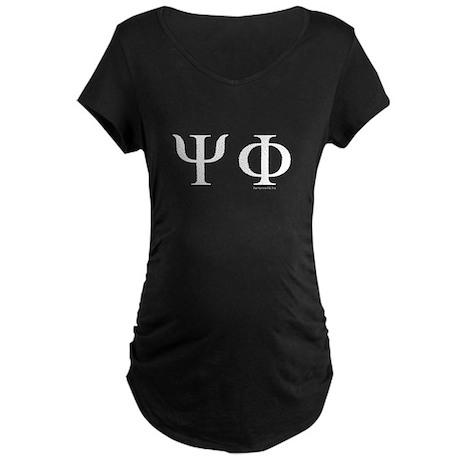 Psi Phi Maternity Dark T-Shirt