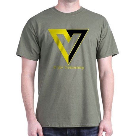 V for Voluntary Dark T-Shirt