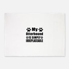 Otterhound is simply irreplaceable 5'x7'Area Rug