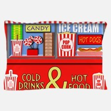 Movie Theater Concessions Stand Pillow Case