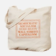 Socialism beats Capitalism Tote Bag