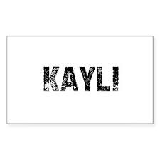 Kayli Rectangle Decal