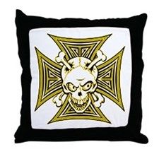 The Haunted Dead IV Throw Pillow