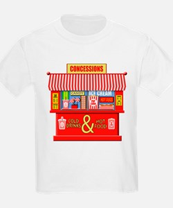 Movie Theater Concessions Stand T-Shirt