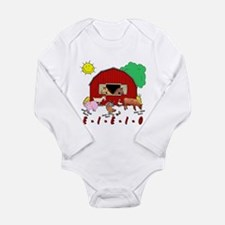 Cute Had Long Sleeve Infant Bodysuit