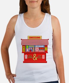 Movie Theater Concessions Stand Tank Top