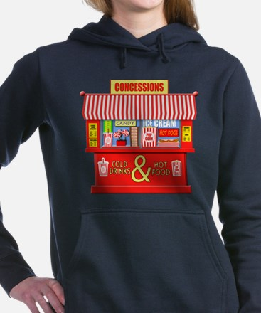 Movie Theater Concession Women's Hooded Sweatshirt